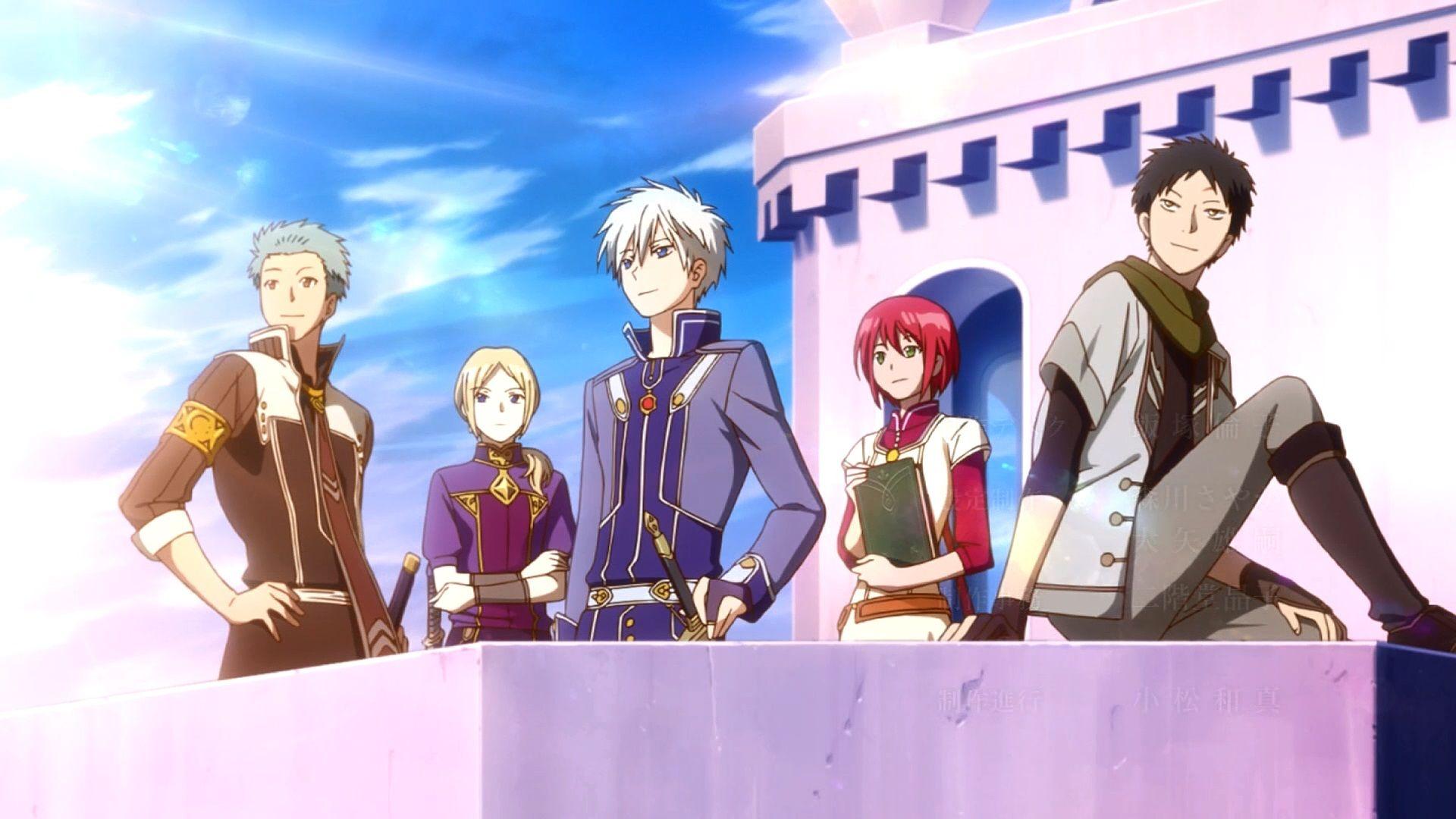 Akagami No Shirayuki Hime Atp Visitate Il Sito Per Maggiori Informazioni Snow White With The Red Hair Red Hair Snow White