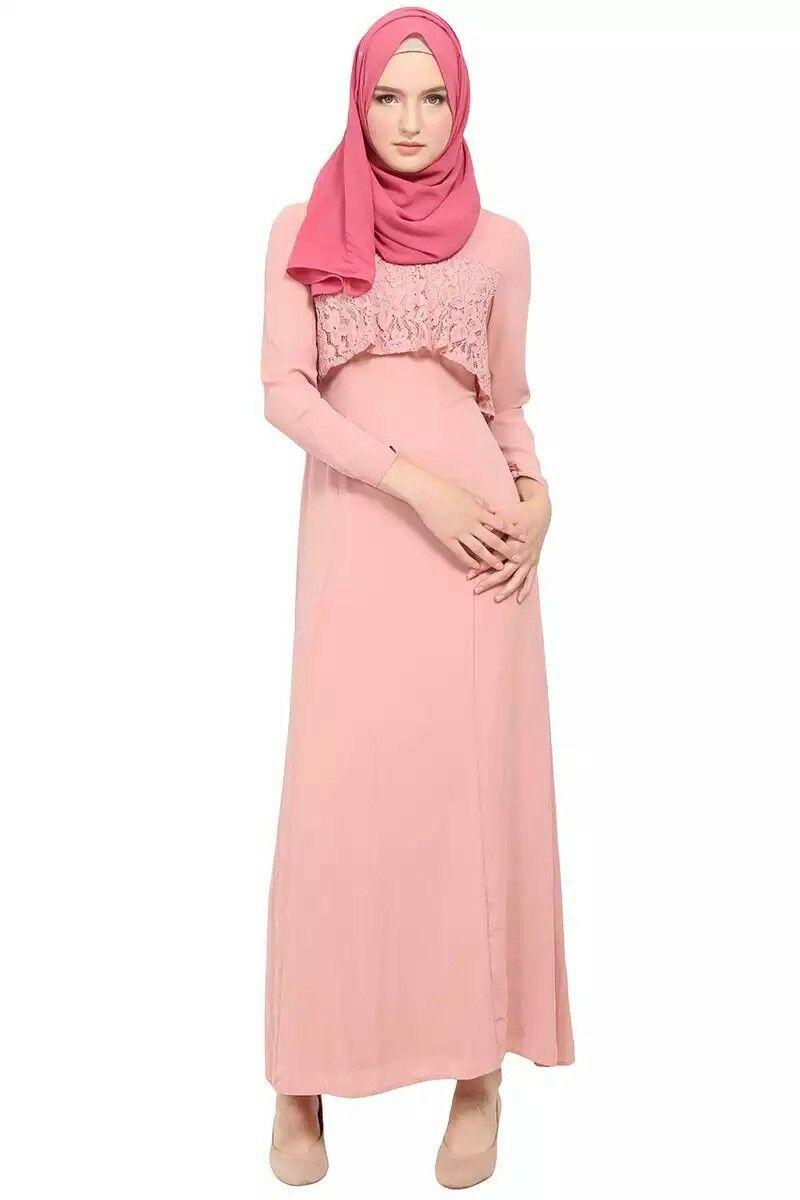 Long dress hijab 2018 belt sabuk