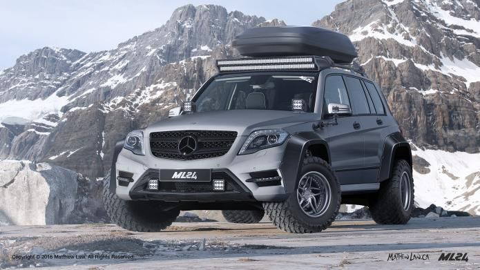 image result for offroad mercedes glk off road. Black Bedroom Furniture Sets. Home Design Ideas