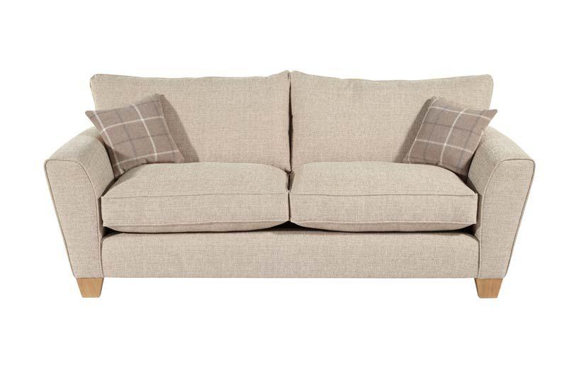 Marvelous Lois 3 Seater Standard Back Fabric Sofa Scs 2 Seater Machost Co Dining Chair Design Ideas Machostcouk