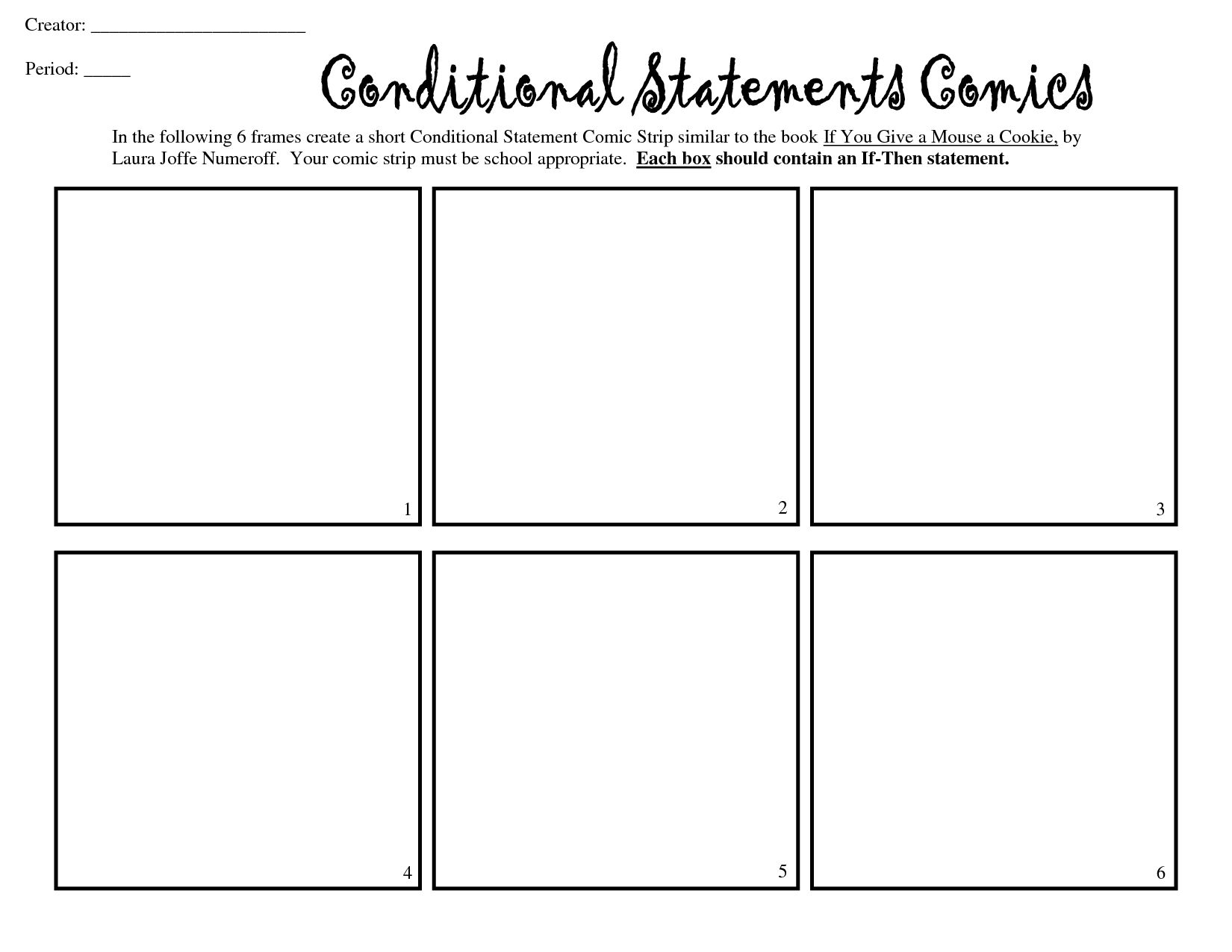 24 Images Of 8 Box Comic Strip Template With Blank