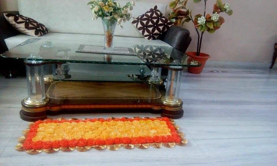 handmade artificial floral-pompom mats for multipurpose uses. These can double up as gods aasan(carpet), rangoli, doormat, center table - dining table decoration etc. WhatsApp 08696026584 . #mats #artificialflowers #marigoldmats #marigold #pompom #multipurpose #pompom #pompomdecor #multiuse #onlineshopping #buydecorationonline #decorideas #homedecor #reasonableprice #buyhandmade #decoratehome #decorateyourhome #reuse #reuseable #handmadewithlove #handmadeisbetter #supporthandmade #localforvocal