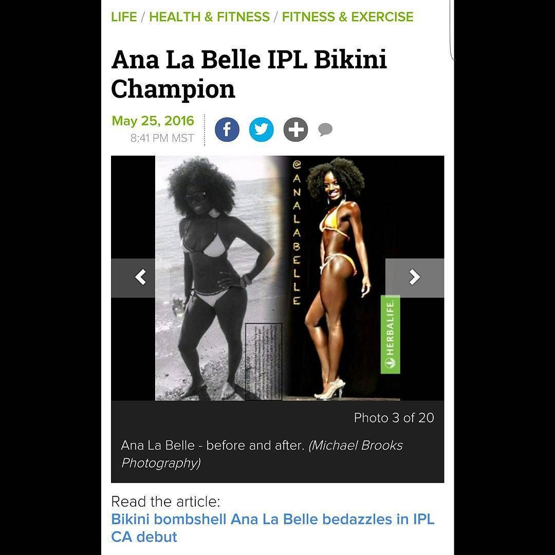 Grateful for the opportunity to share my story. .. Readfull article. .link in my bio #examiner #IPLCA #BikiniOpenPro #Grateful #blessed #Purpose #herbalife #IMPACT #fitness #Lifestyle #changinglives by analabelle