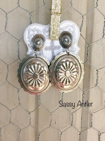 Concho Earrings | My Style | Pinterest | Ear jewelry ...
