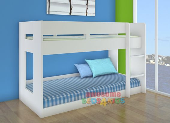 Lego Low Line Bunk Bed Oak White White Awesome Beds 4 Kids