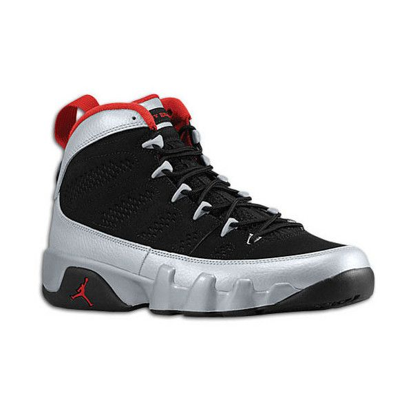 timeless design bd92e a0bf7 Jordan Retro 9 Shoes | Footaction ($50) ❤ liked on Polyvore ...