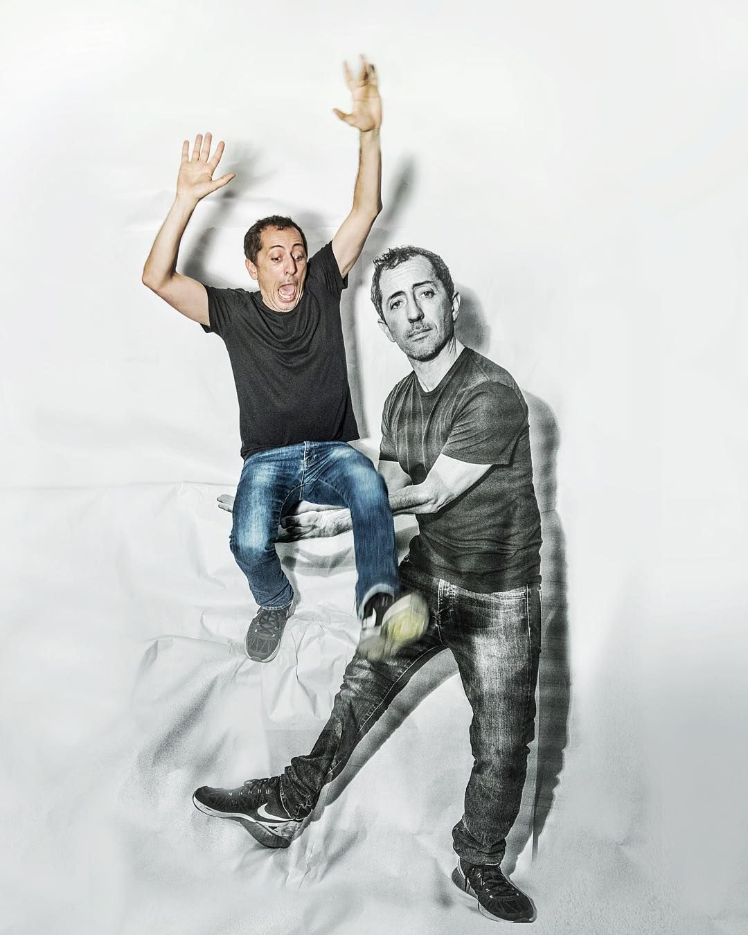 In New York City !!! @gadelmaleh  #PaperPortraitSerie by jr