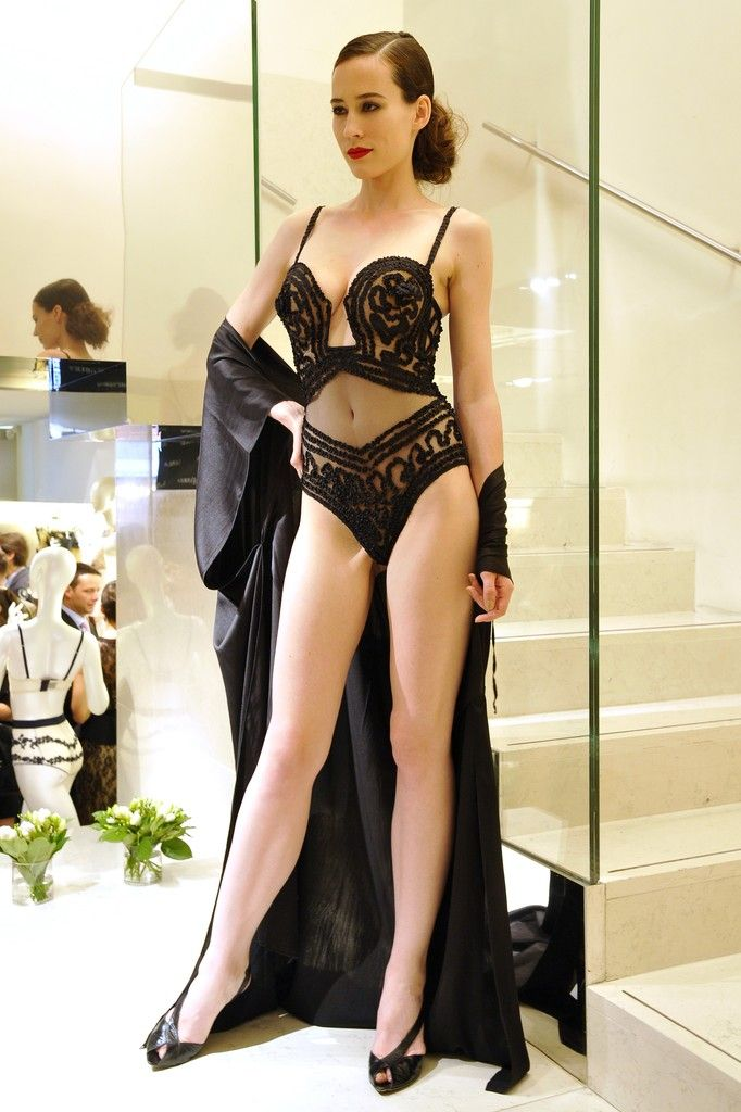 """Jean Paul Gaultier La Perla Collection Créateur"" http://www.pinterest.com/lilyslibrary/"