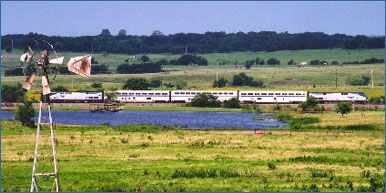 Heartland Flyer The Train Between Oklahoma City And Fort