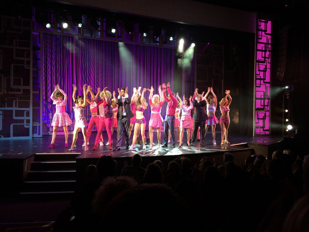 The Broadway show Legally Blond on the new Norwegian Getaway | Norwegian Cruise Line | Miami | Caribbean