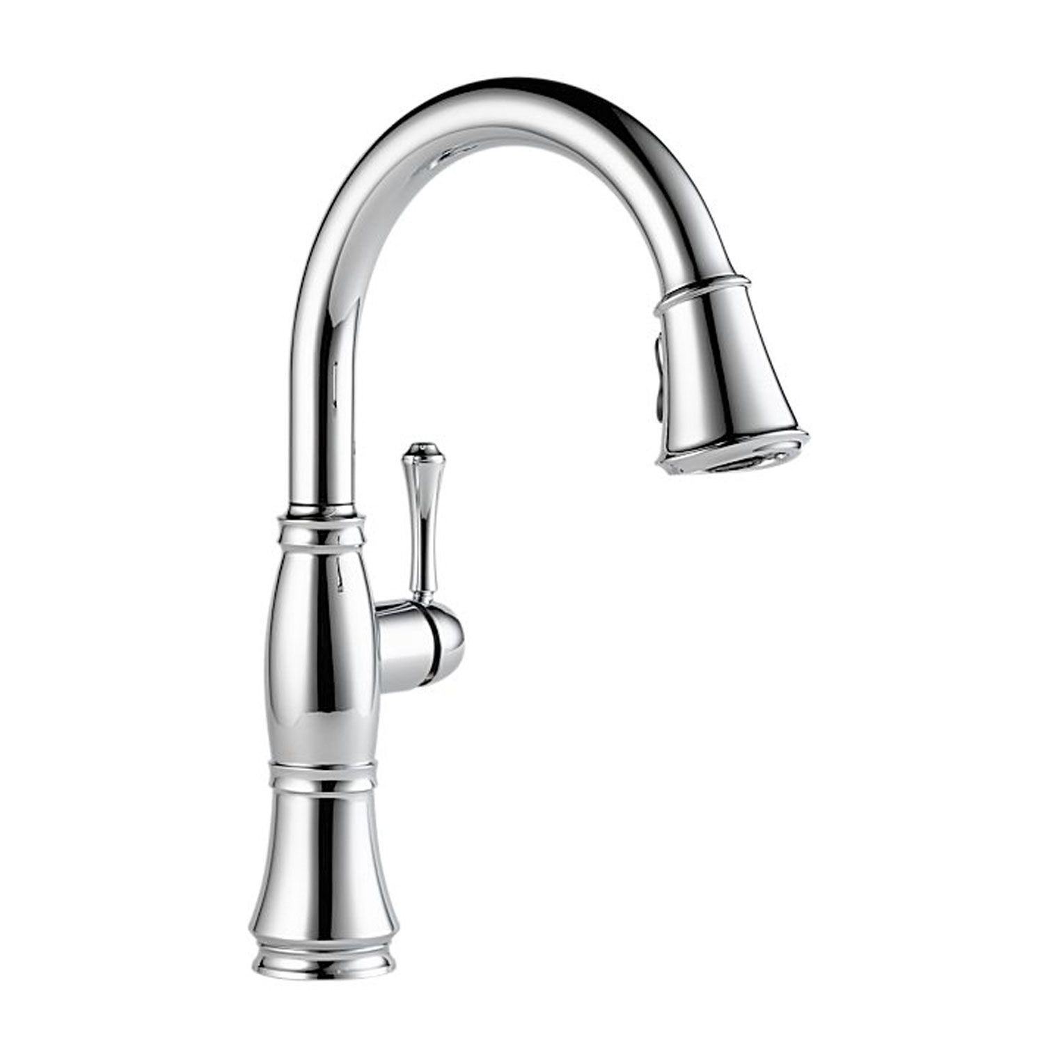 Delta 9197 Dst Cassidy Single Handle Pull Down Kitchen Faucet