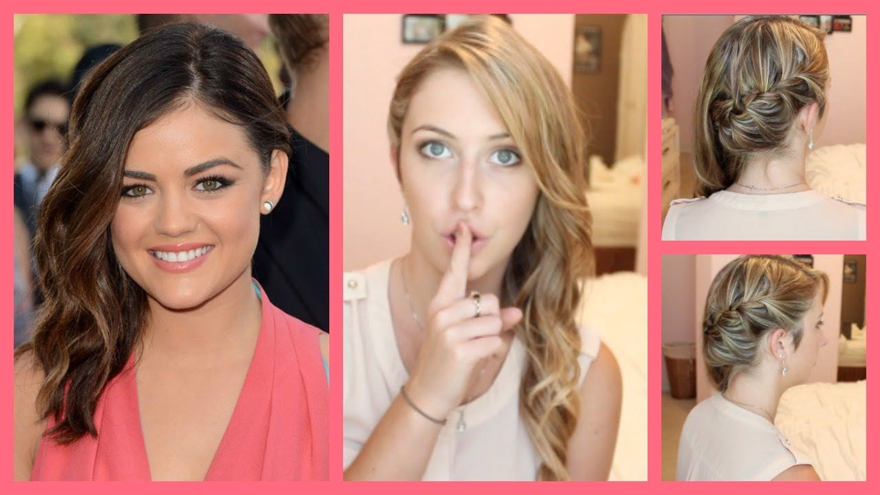 "aria montgomery ""pretty little liars"" inspired hair tutorial"
