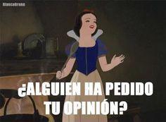 Frases De Princesas De Disney Para Facebook Buscar Con Google Memes Divertidos Memes De Disney Chistes Graciosos