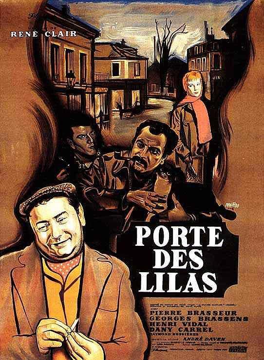 """El Acorazado Cinéfilo - Le Cuirassé Cinéphile: """"Porte des Lilas"""" (1957). René Clair - Francisco H..."""
