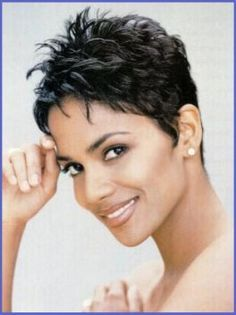 Groovy Halle Berry Haircuts Cautare Google Short Hair Cuts Hairstyles For Men Maxibearus