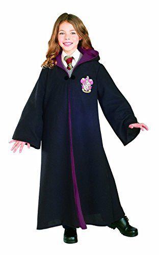 Kids Deluxe Gryffindor Robe Harry Potter Kostum Kostum Verkleidung Madchen Halloween