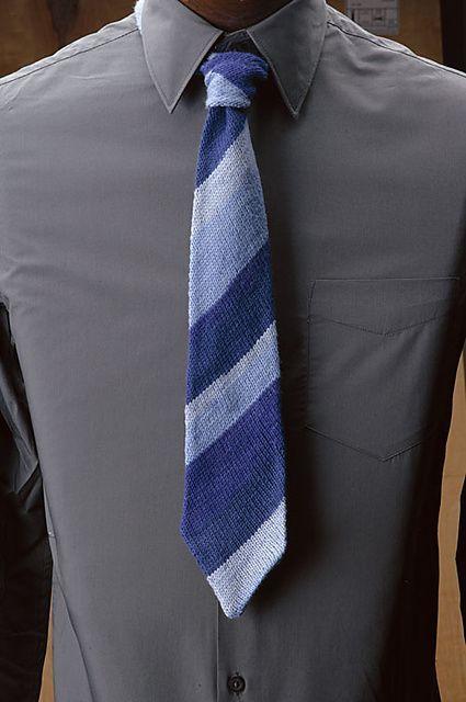 Ravelry Mens Bias Knit Tie Pattern By Knit Picks Design Team Knit