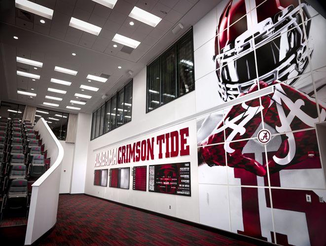 Alabama Football Facilities Sports Architecture And Interior Design Pinterest Alabama
