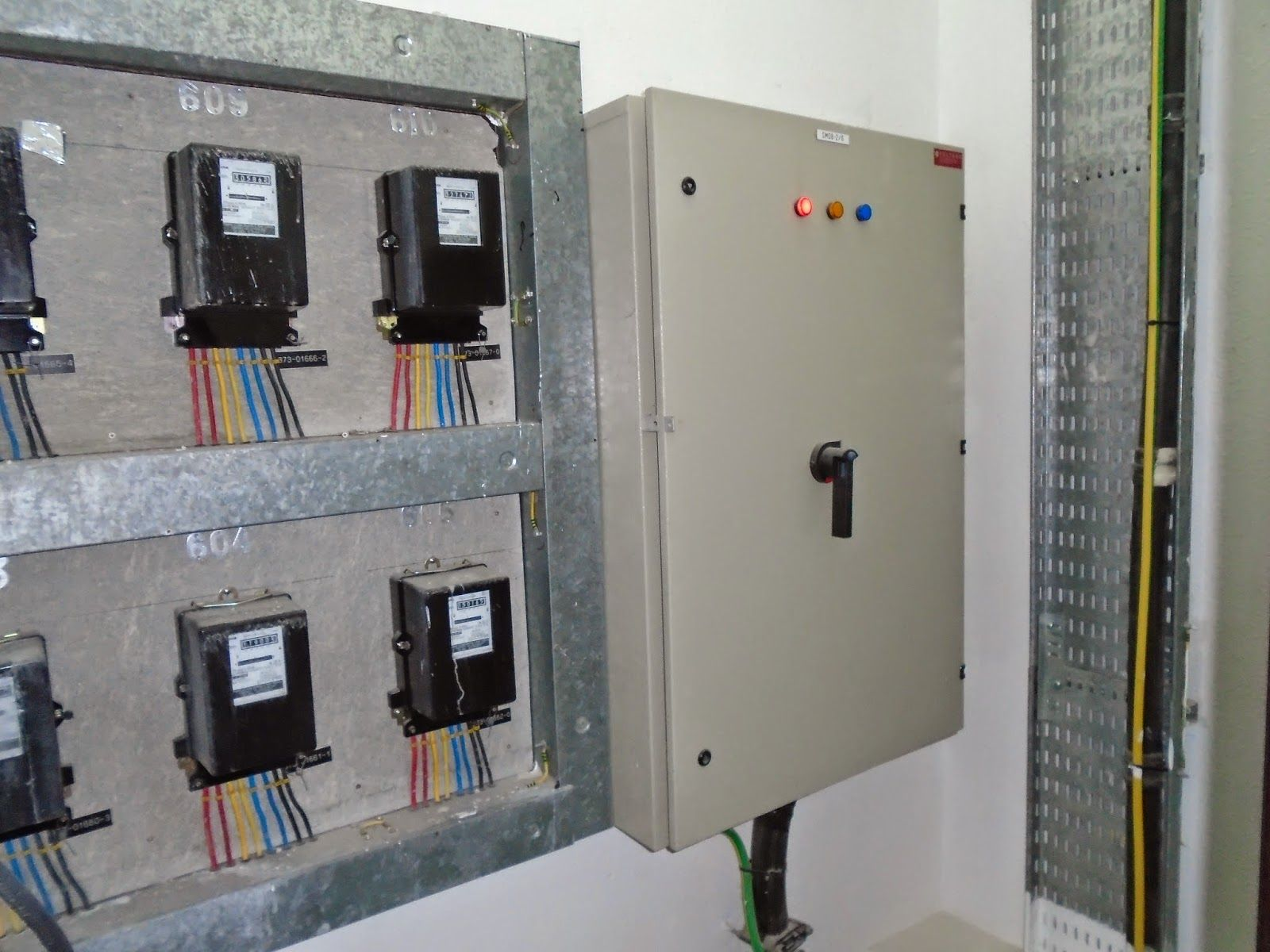Electrical Wiring In Bangladesh Smdb And Meter Basic Digital Panel Diagram