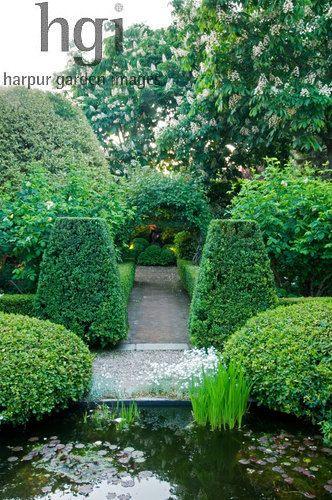 Pin de Olga Janik en Landscape Pinterest Estanques, Jardines y - paisaje jardin
