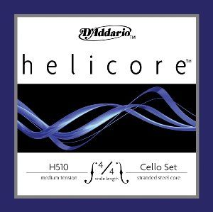 Amazon.com: D'Addario Helicore Cello String Set, 4/4 Scale, Medium Tension: Musical Instruments