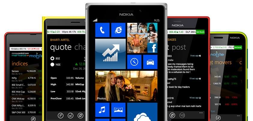 Real Time Stock Quotes Classy Stock Market Live On Your #nokialumiaget Real Time Stock Quotes