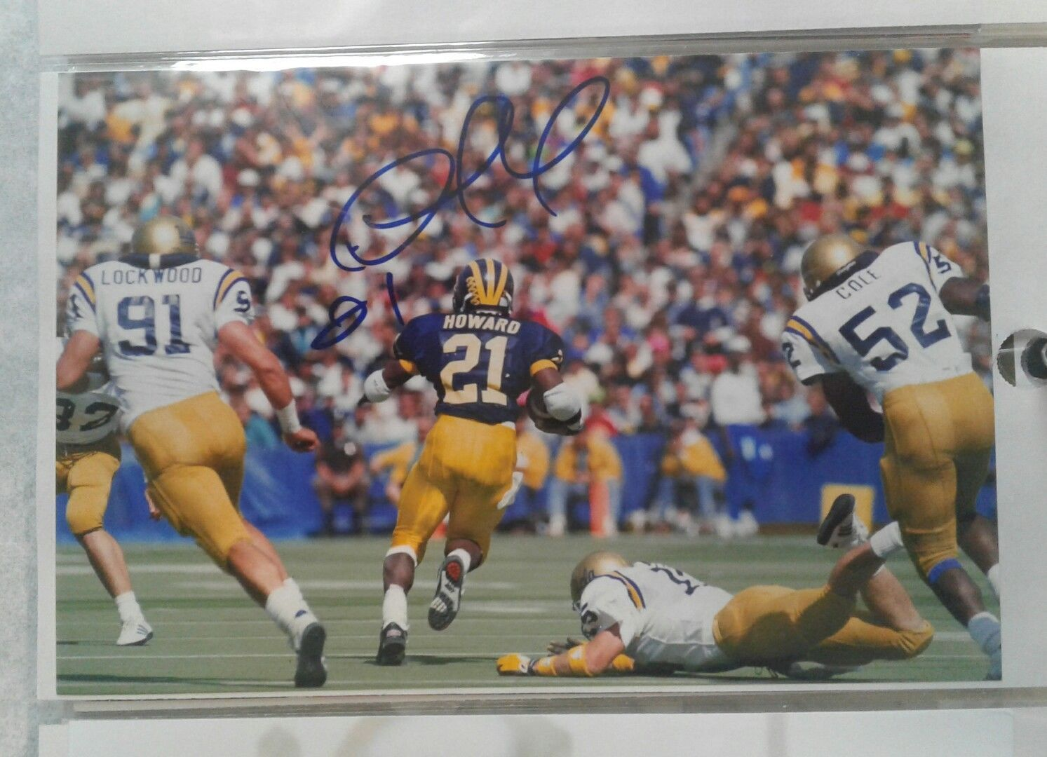 Desmond Howard Heisman Michigan Wolverines College