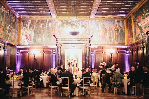 Boston Public Library Massachusetts Wedding VenuesWedding