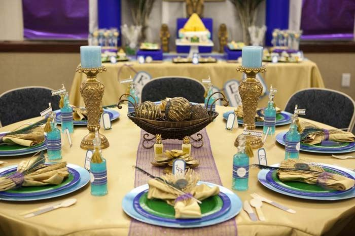 egyptian party ideas party party themes spa birthday peacock theme