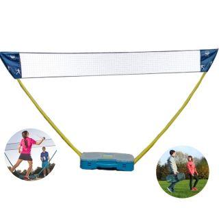 Hy 013 B60 Portable Indoor Outdoor Badminton Net Set With 2pcs Rackets Shuttlecock Case Badminton Set Badminton Badminton Nets