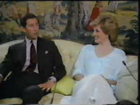 Part five of an interview with the Prince and Princess of Wales from November 1985. Filmed in Kensington Palace.