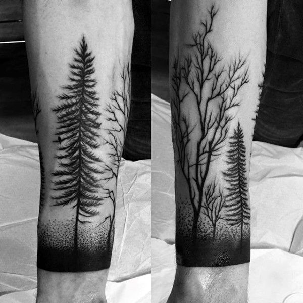8bcd6f6284d76 100 Nature Tattoos For Men - Deep Great Outdoor Designs | Piercings ...
