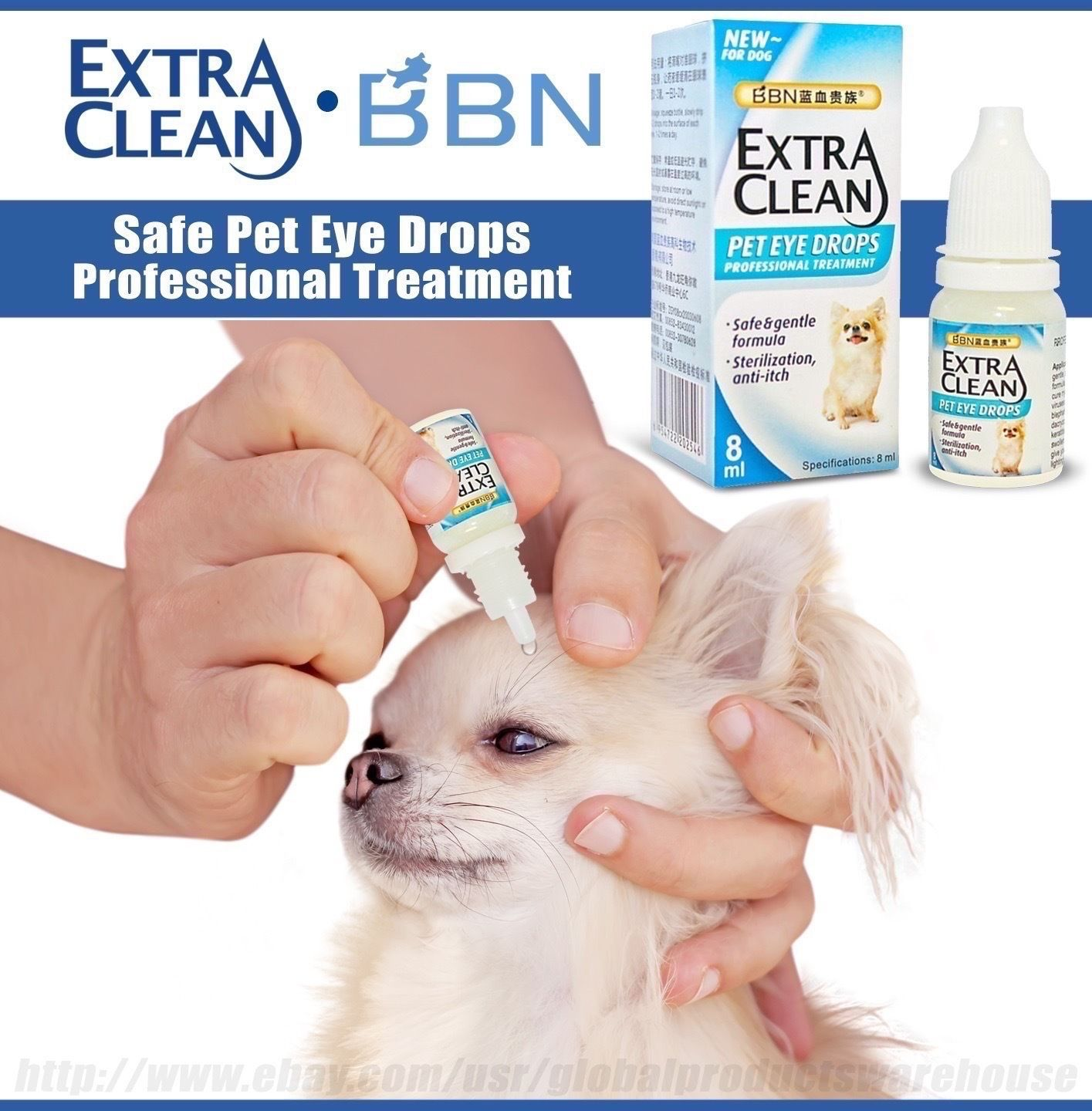 Best Dog Infection Conjunctivitis Pink Eye Drops Red Irritation Dry Itch Allergy Pink Eye Drops Pink Eyes Dog Eyes