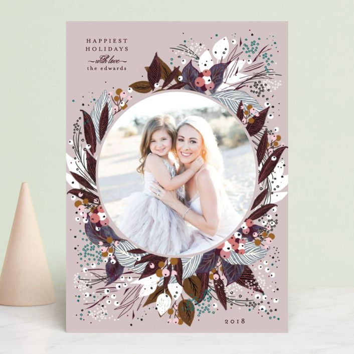 Beautiful Bouquet in 2018 Paper Love Holiday photo cards