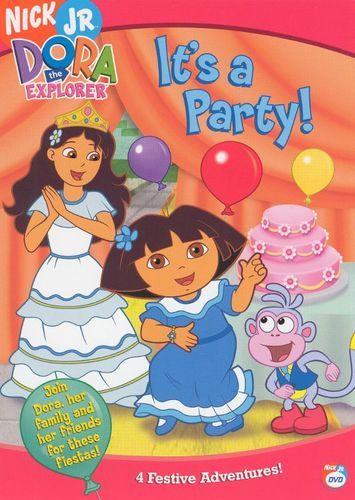 Best Buy Dora The Explorer It S A Party Dvd Dora The Explorer Dora Dora And Diego