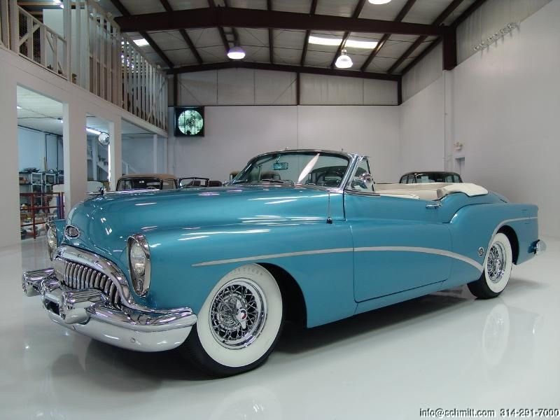 old buicks | DANIEL SCHMITT & CO CLASSIC CAR GALLERY PRESENTS: 1953 BUICK SKYLAR…