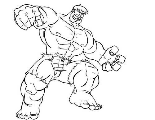 35 Desenhos De Super Herois Para Colorir Em Casa Com Imagens