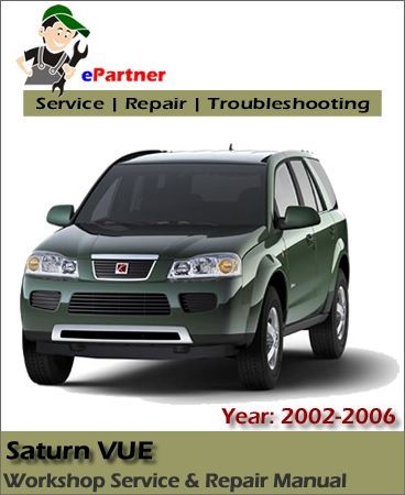 saturn vue owners manual 2006