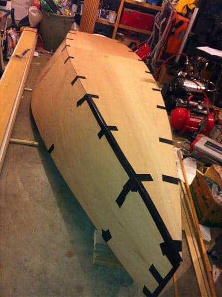 S12 Club New design – lightweight and efficient plywood racing dinghy