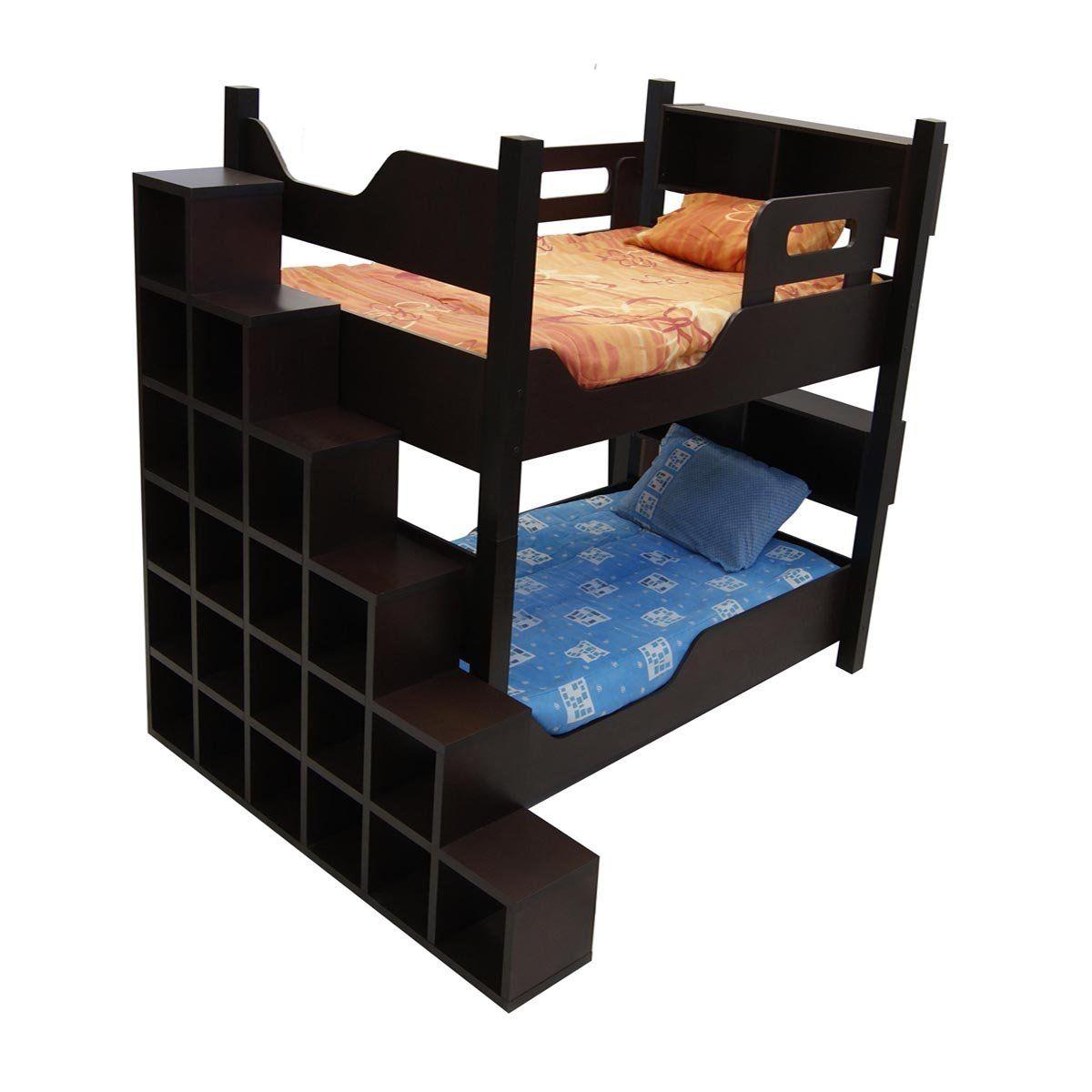 litera escada con 2 camas individuales gemelas sears com mx me entiende camas pinterest. Black Bedroom Furniture Sets. Home Design Ideas
