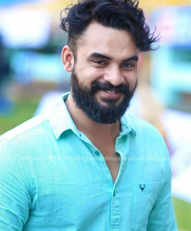 Image result for tovino beard""
