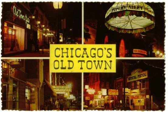 Loved Old Town Pipers Alley In The Late 60 S Old Town