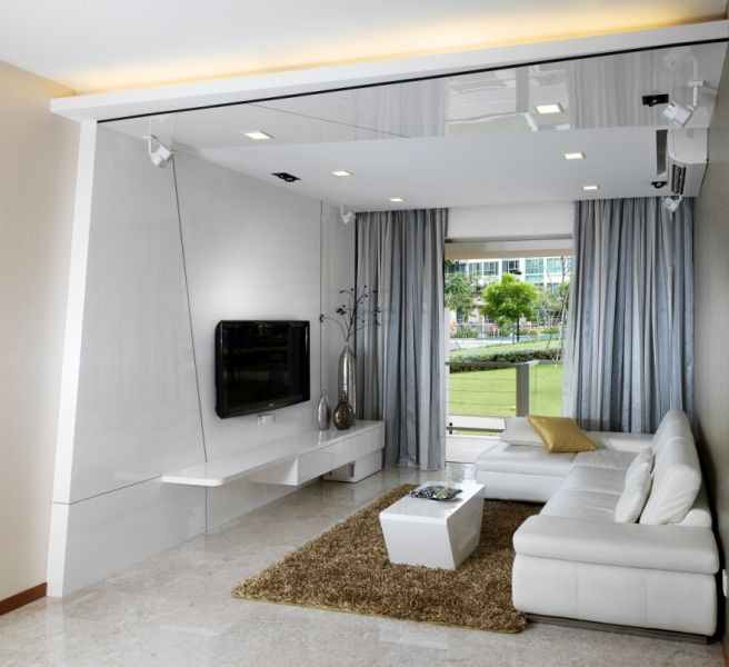 Interior design for singapore condo this is the living room our designer worked on  unit in calrose click image more renovation projects also space vision spacevdesign pinterest rh