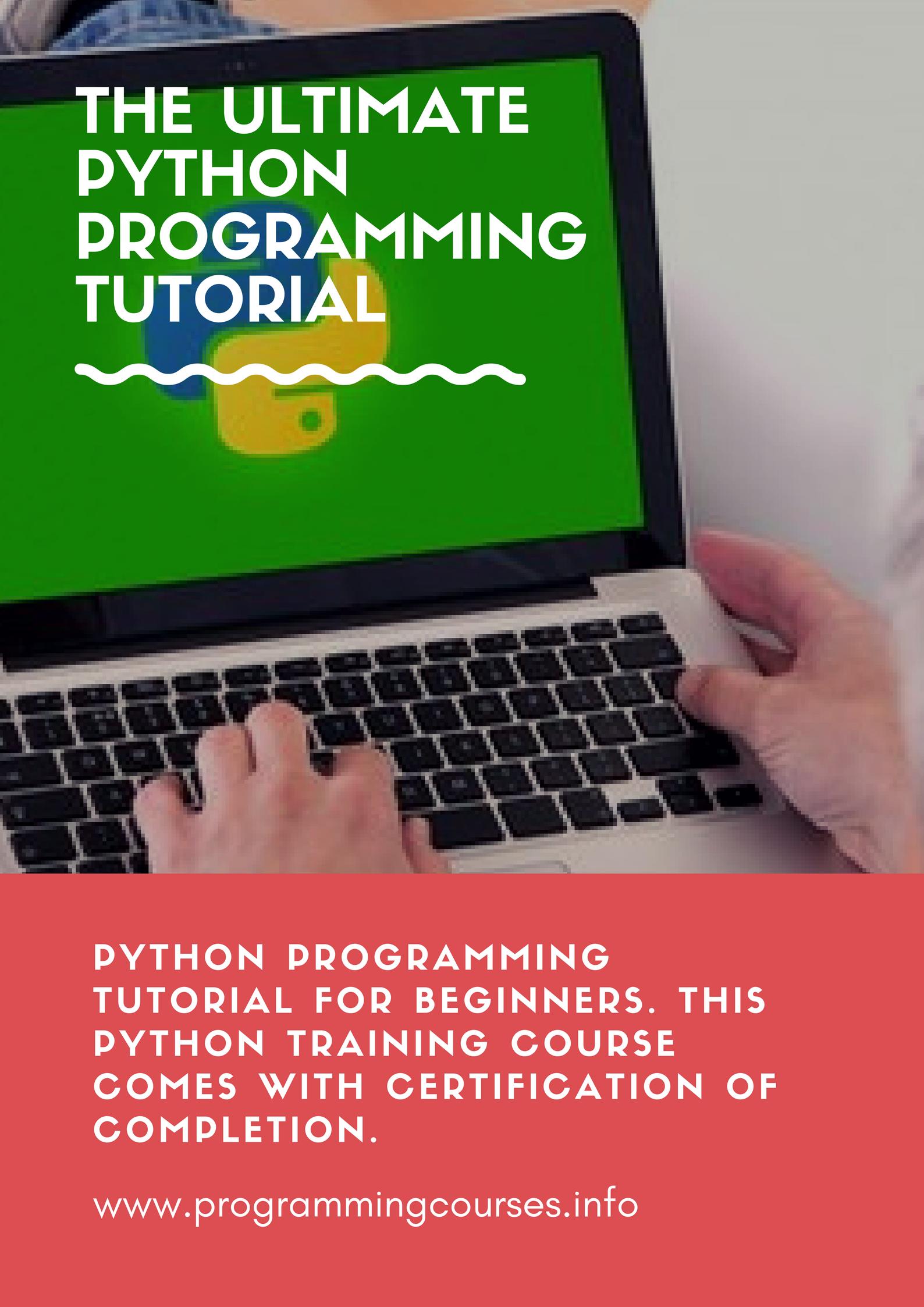 The ultimate python programming tutorial python programming the ultimate python programming tutorial python 1betcityfo Choice Image