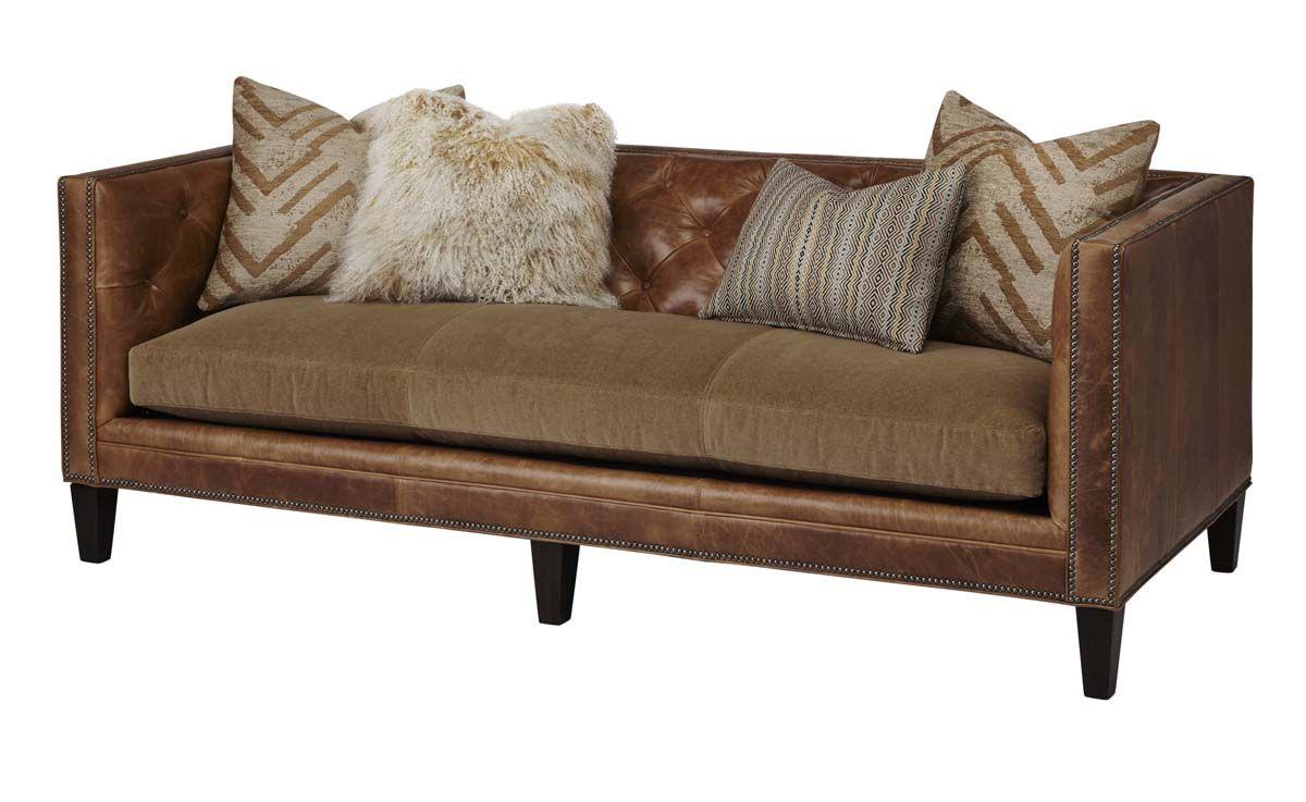 Massoud Modern Western Sofa Leather Sofa And Loveseat Love Seat