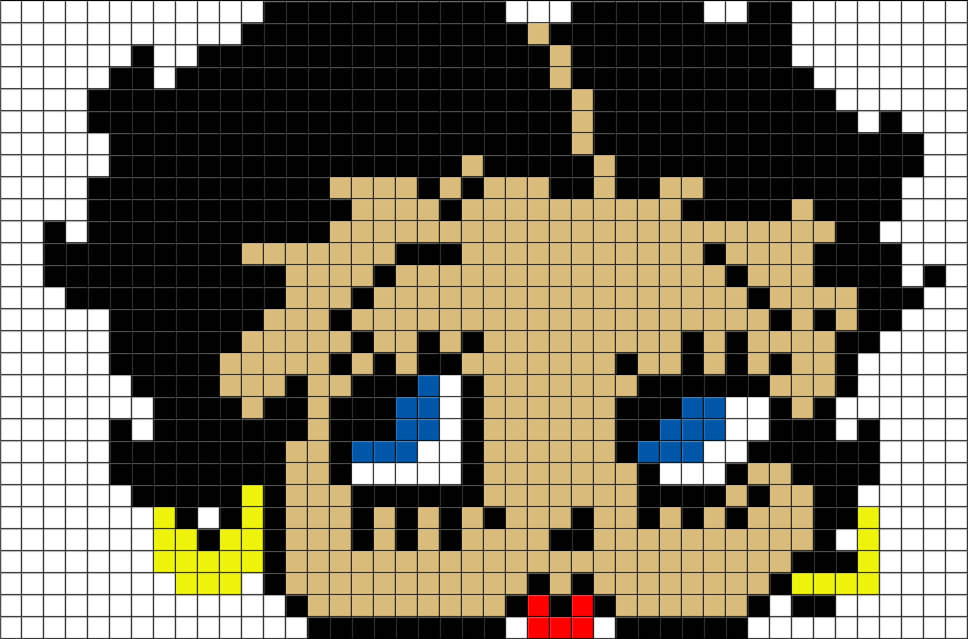 Betty Boop Pixel Art Brik Pixel Art Designs Pixel Art Betty
