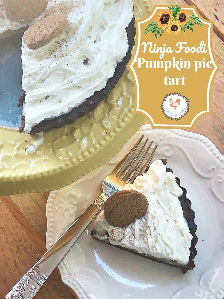 Ninja Foodi Pumpkin Pie tart (With images) Pumpkin pie