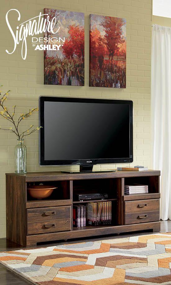 Quinden Tv Stand Ashley Furniture