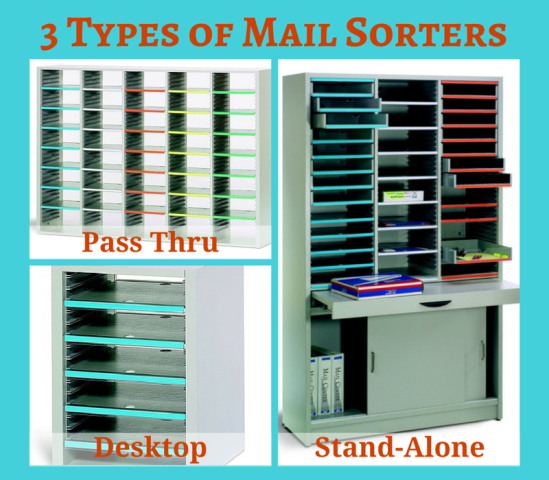 3 Types Of Mail Sorters For Organizing In Your Office