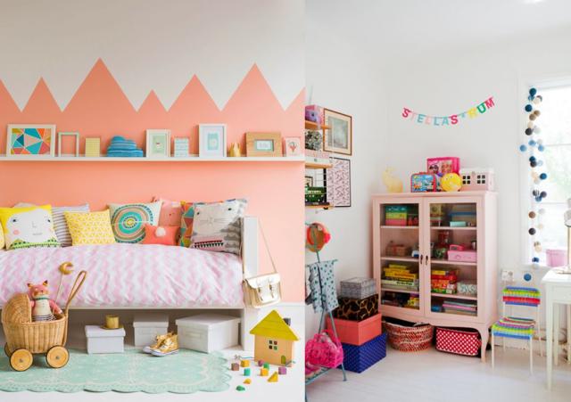 10 inspirations pour une chambre de petite fille | Blog deco, Deco ...